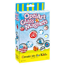 pop art glass magnets by creativity for kids 1441e really great toys