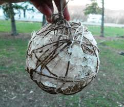 rustic ornaments twine ornaments wedding ornament