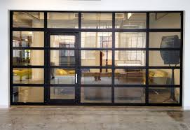 Overhead Door Of Boston by Glasspassingdoor Full View Aluminum Glass Garage Door With