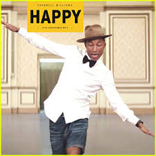 pharrell williams happy is the most popular song of 2014 on
