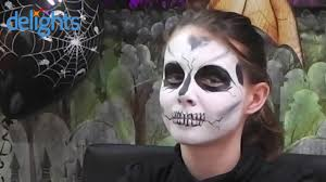 Halloween Skeleton Faces by Skeleton Face Paint Kids Halloween Skeleton Face Paint Tutorial