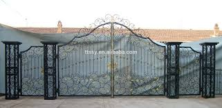 modern wrought iron main gate design for home villa and garden