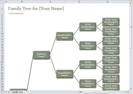 free family tree template excel family tree template excel excel