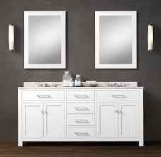 Double Vanity Basins Double Vanity Double Vanity With Two Mirrors Classic With Double