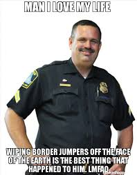 Lmfao Meme - man i love my life wiping border jumpers off the face of the earth