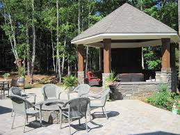 outdoor fireplace gazebo fire pit gazebo plans http