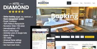 hotel diamond drupal hotel booking theme website templates