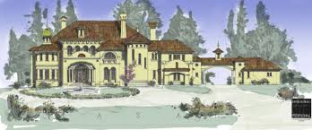 beautiful custom home plans in traditional classical european styles