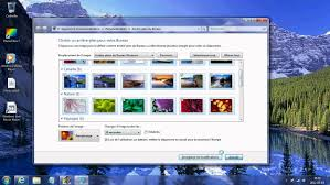 image bureau windows 7 tuto windows 7 changer l apparence des fenetres etc