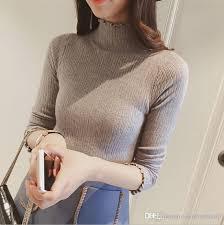 turtle neck sweaters 2018 s turtleneck sweater slim basic lightweight
