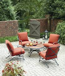 Chat Set Patio Furniture - grand resort keaton 5 piece chat set with granite limited