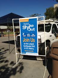 Csuf Map Campus Emergency Preparedness Great Shakeout 2015