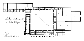 mission san diego de alcala floor plan san diego where california began san diego history center