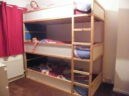 space saving kids triple decker beds ikea hackers ikea hackers