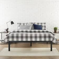 bedroom queen platform bed frame with storage platform bed base