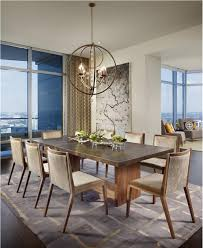 Modern Elegant Dining Room Contemporary Modern Retro Elegant - Modern dining room