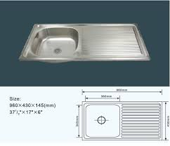 stainless steel kitchen sink sizes jz 830 96x43 export indonesia stainless steel kitchen sink buy