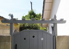 painted timbersil wood gate timbersil projects and news