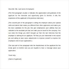 sample cover letter format example 11 download free documents
