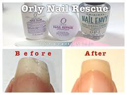 orly rescue nail repair by the crafty ninja youtube