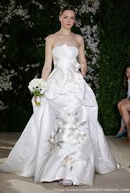 wedding dress 2012 carolina herrera bridal 2012 collection wedding dress
