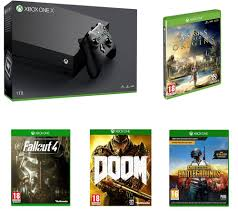 player unknown battlegrounds xbox one x release buy microsoft xbox one x games bundle free delivery currys
