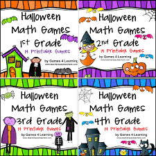 Halloween Printable Games Fun Games 4 Learning Halloween Math Fun