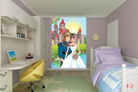 Princess Wall Mural by Mural Princess And A Castle