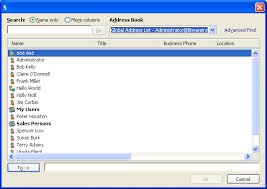 how to create an outlook address book in 2013 btec ict