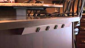 legrand under cabinet lighting system angle power strip 2011 youtube