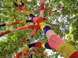 yarn bombing graffiti with sweaters salt lessons