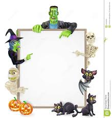 Halloween Banner Clipart by Halloween Sign Background Royalty Free Stock Photography Image