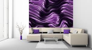 wohnzimmer 4m designtapeten in lila violett flieder