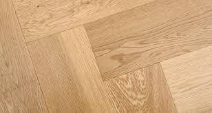 Herringbone Oak Natural Lacquered Engineered Wood Flooring - Herringbone engineered wood flooring