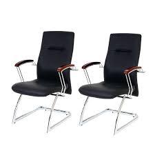 chaise visiteur bureau chaise visiteur bureau lot de 2 fauteuils chaises pour visiteur