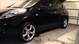 2016 nissan altima lug pattern nissan leaf with 350z staggered wheels and tires youtube