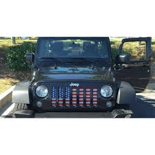 charcoal grey jeep rubicon american flag jeep grill u2013 route one apparel