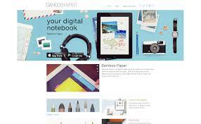 wacom bamboo paper app campaign images