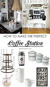coffee bar ideas how to make a coffee bar at home