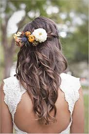 wedding hairstyles for long hair with flowers braid only good