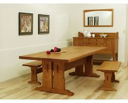 dining room kitchen trestle table trestle dining table