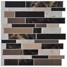 backsplash tile for kitchen peel and stick kitchen art3d 12 x peel and stick backsplash tile sticker self