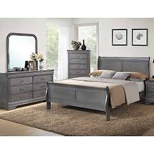 Grey Furniture Bedroom Philippe Grey Bedroom Collection Master Bedroom Bedrooms