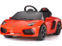 Lamborghini Aventador Orange - lamborghini aventador rc 6 volt ride on red toys