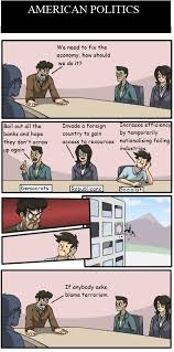 Board Meeting Meme - boardroom meeting meme american politics by doctorwho3600 on