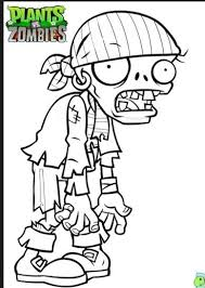 free printable plants zombies coloring pages kids malebog