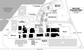 bank of america floor plan mall hall of fame
