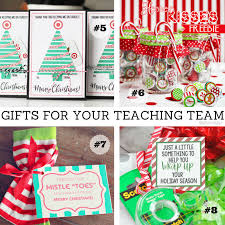 help with christmas easy gifts for your teaching team simply kinder