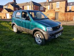 daihatsu terios 2000 2001 daihatsu terios 1 3 4x4 ideal for the bad weather only