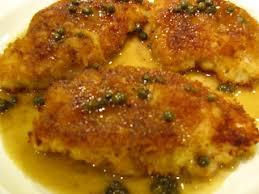 Chicken Piccata Ina Garten Cora Cooks March 2009